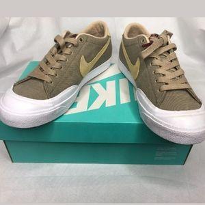 Nike Cory Kennedy SB Mens 11.5 Khaki Canvas Sue